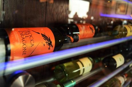 Wine at V&M Bistro