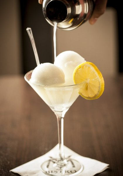 Home of the Famous Limoncello Ice Martini