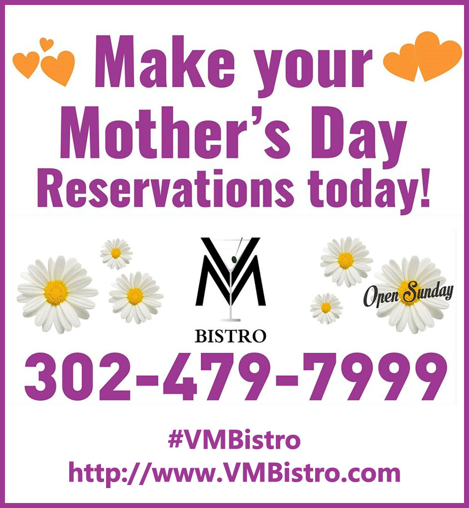 Make Your Mothers Day Reservations at VM Bistro