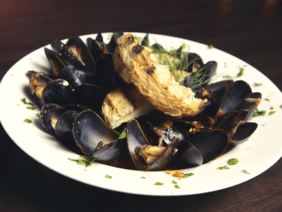 Drunken Mussels from VM Bistro