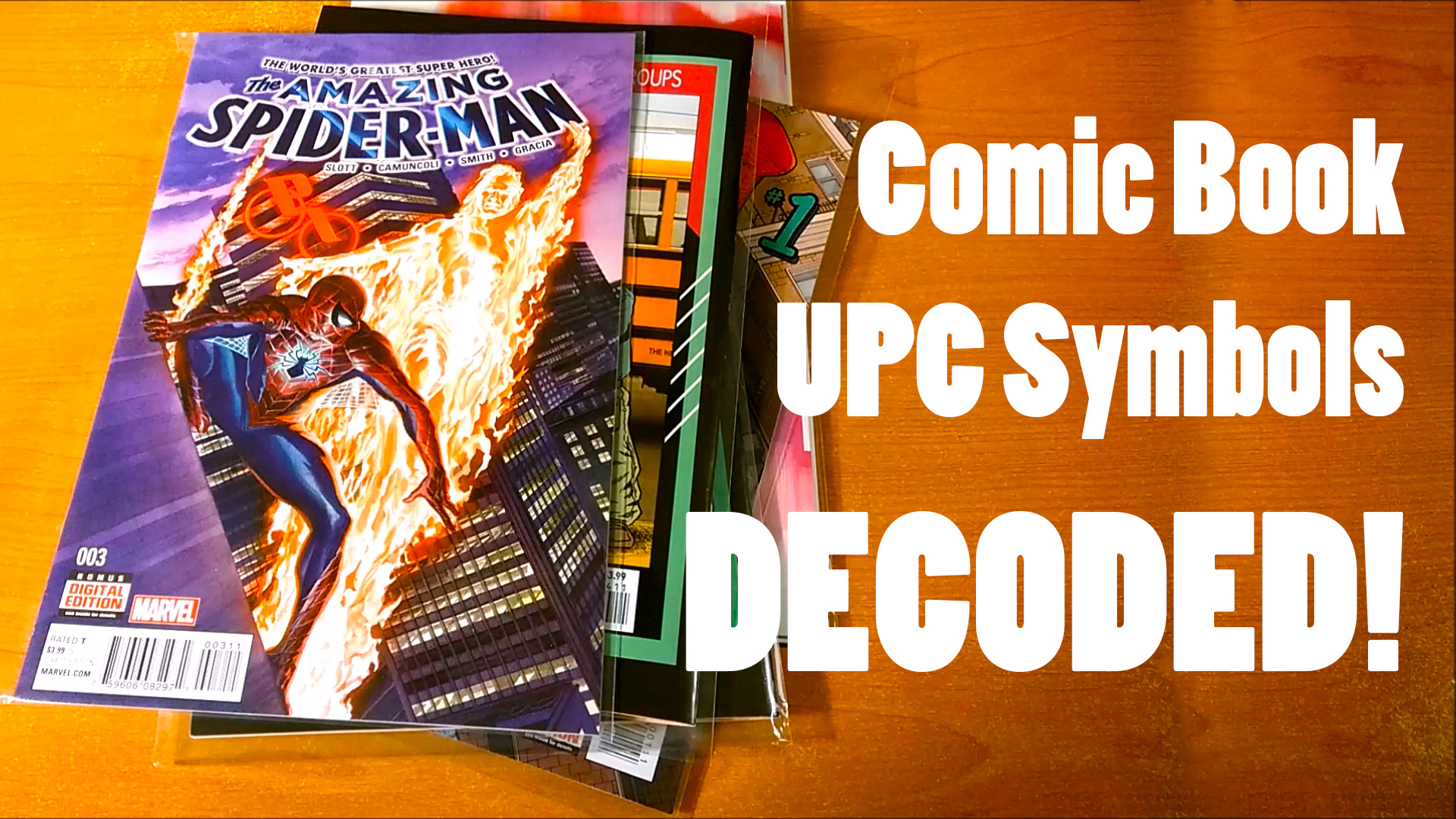 Comic Book UPC Symbols Decoded