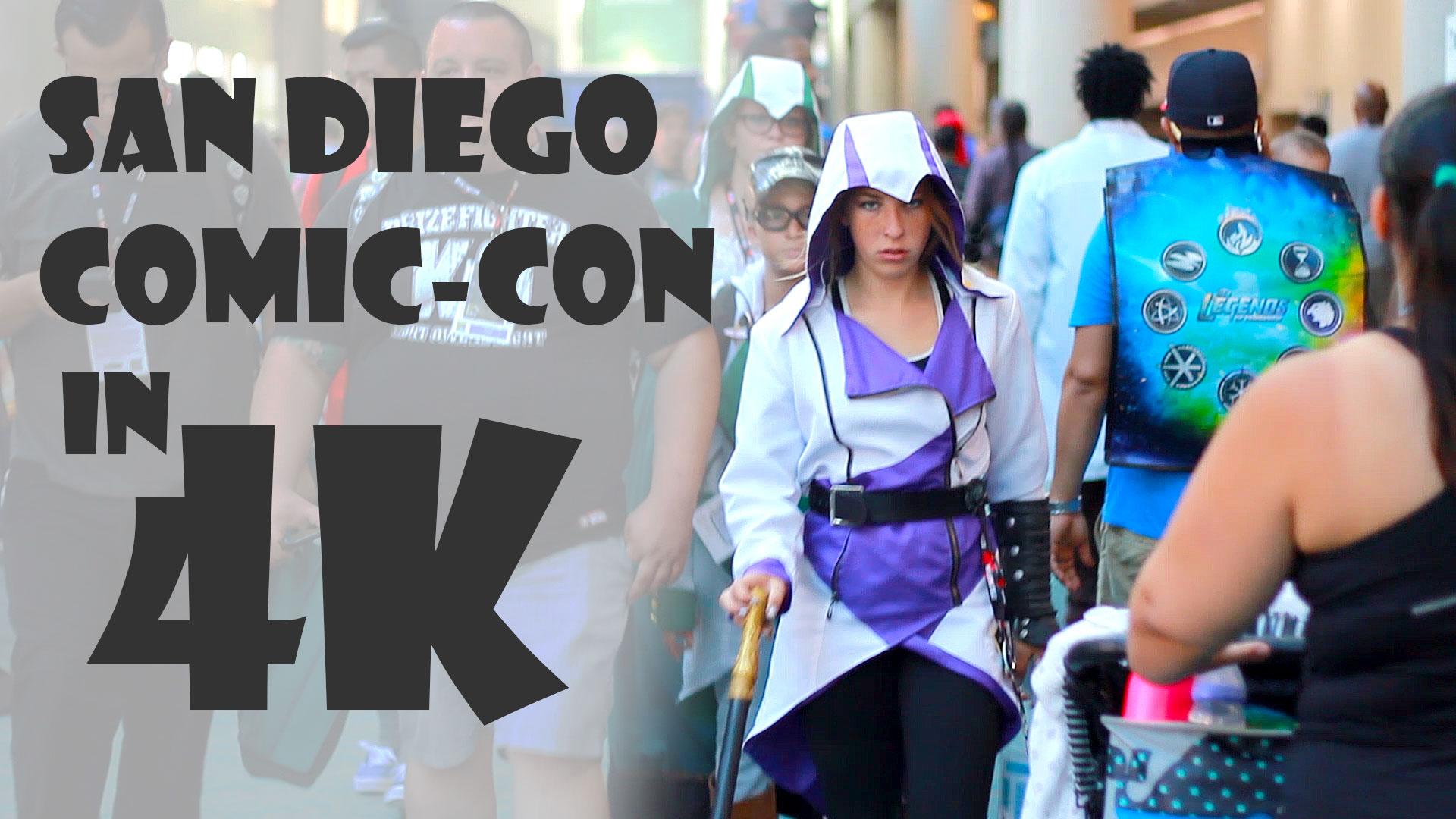 Comic-Con 2016 Tour in 4K