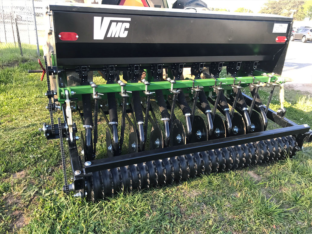 Grain Drills | Brush Cutters & other Well-Built Attachments | VMC