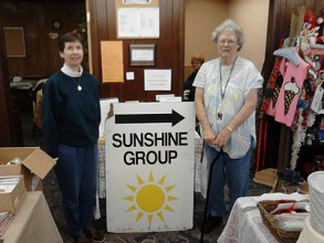 Ladies from the Sunshine Group