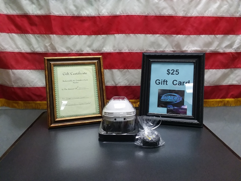 2018 Benefit Auction Donor's List