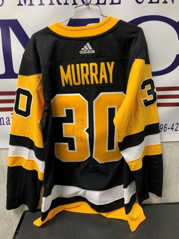 Autographed Pittsburgh Penguins Jersey #30