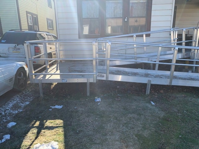 We Tore Down A Ramp For A Deceased Veteran