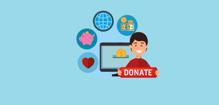 how to get donations online