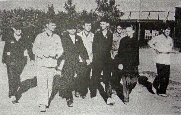 Сотрудники детской железной дороги