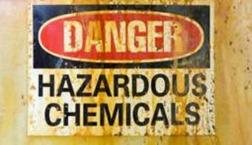 Danger - Hazardous Chemicals