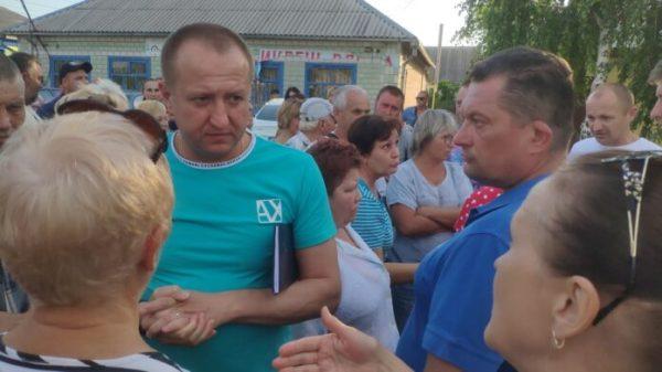 В Новоалександровке – народный бунт: местное руководство в ...