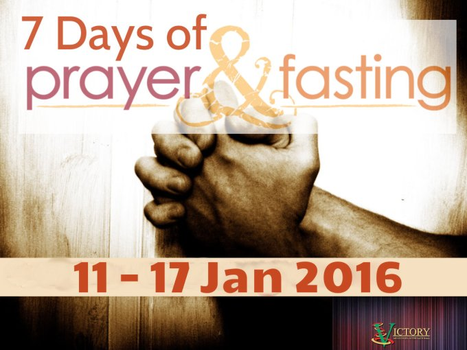 7 Days of Fasting