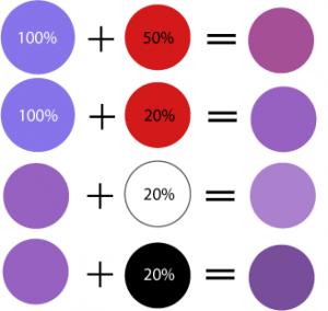 lumina violet