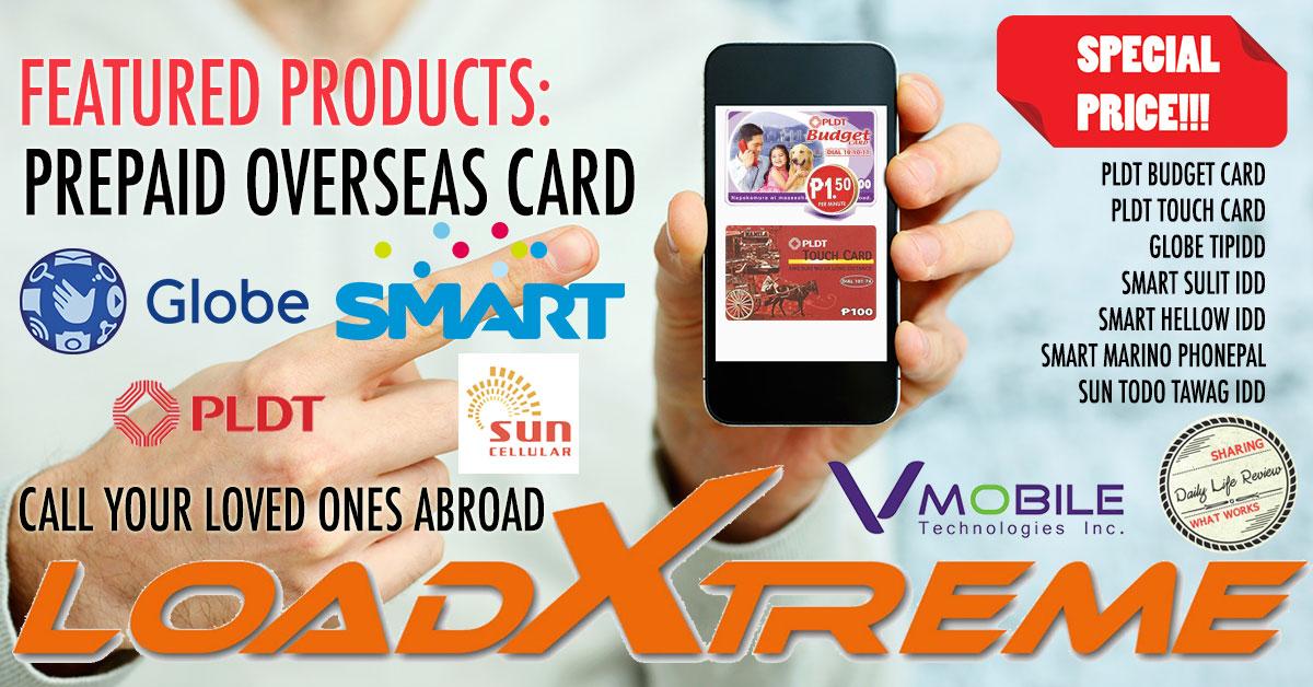 VMobile Prepaid Overseas Calling Card