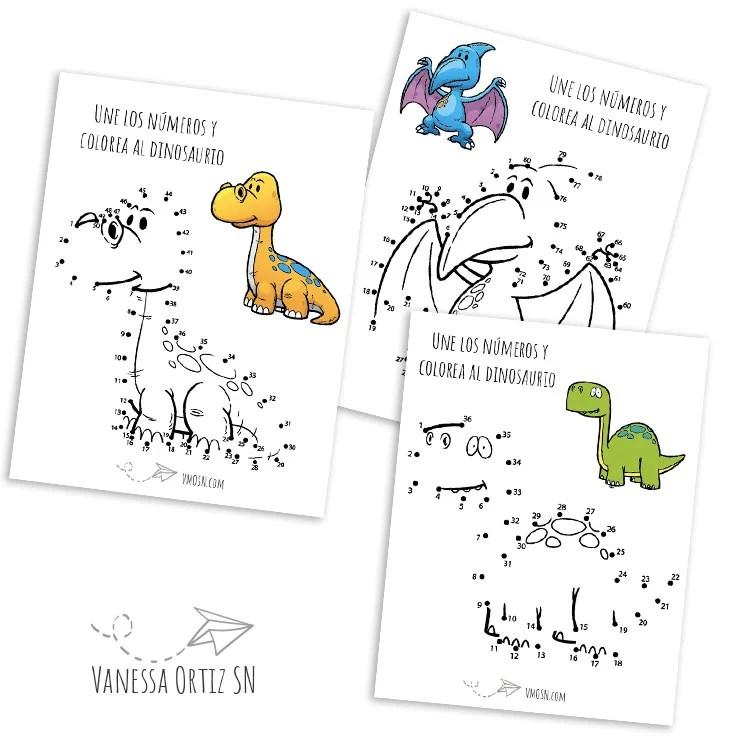 dinosaurios para los más pequeños