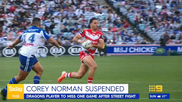 Norman banned and fined by NRL