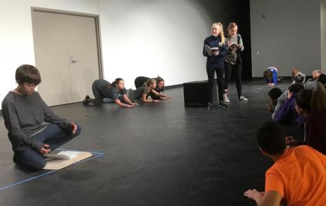 A sneak peek inside the fall play: The Neverending Story