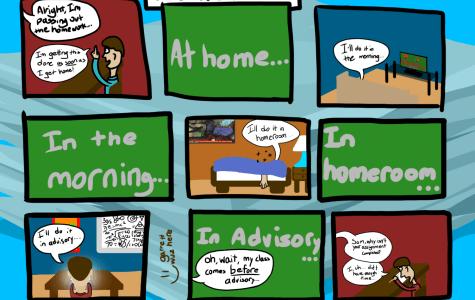 #Relatable Short Comic #1: Homework