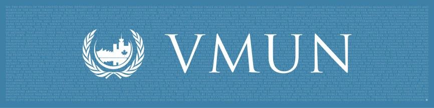 VMUN 2017 Banner