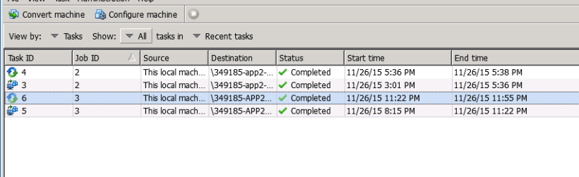P2V a server that's isolated from vCenter -