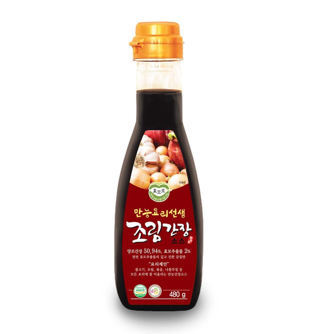Nước Sốt Kho Hyomoro 480g 100% Tự Nhiên