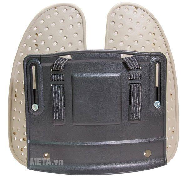 Dây đai thiết kế độ co giãn cao, gắn chặt tựa lưng vào ghế