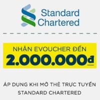 Voucher của Standard Chartered Lazada