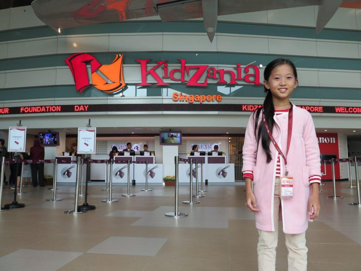 KidZania khu tìm hiểu nghề nghiệp thực tế cho trẻ nhỏ ở Singapore