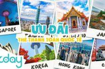 KKday Blog Việt Nam, ưu đãi cho chủ thẻ thanh toán quốc tế