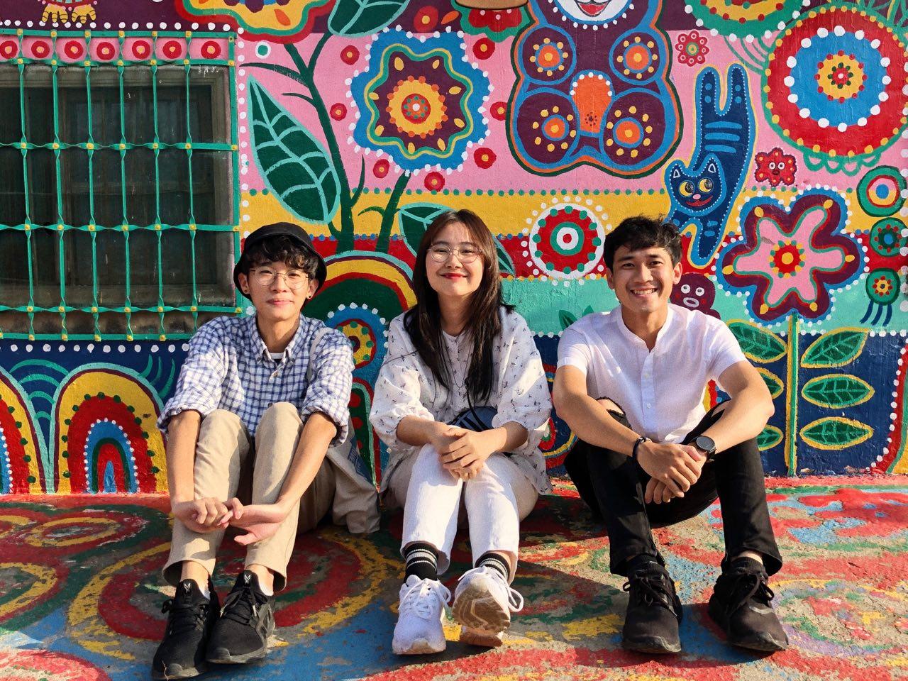 Day Tour KKday tham quan Đài Trung từ Đài Bắc tại Làng Cầu Vồng
