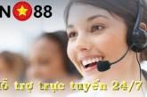 Hỗ trợ vn88 - các hình thức liên hệ hỗ trợ trực tuyến vn88