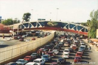 Puente Peatonal, Garitas, Tijuana