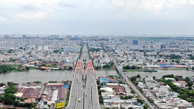 Chung cư 'trăm hoa đua nở' dọc đại lộ đẹp nhất Sài Gòn - ảnh 9
