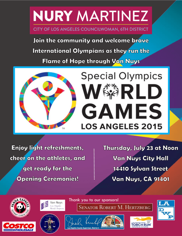 World Special Olympics Final Flier 7.23.15