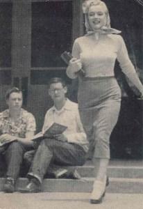 Marilyn Monroe Van Nuys High