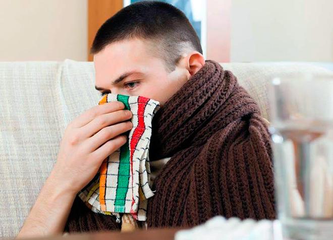 Сухость в носу, часто возникает если помещение плохо отопляется