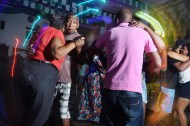 People dance at Mangabeira Futebol Clube on Sunday March 20, 2016 in Recife, Brazil. The Zika virus is rampant in the region. The virus is spread by the Aedes aegypti mosquito. There is also evidence that the virus can be spread sexually.