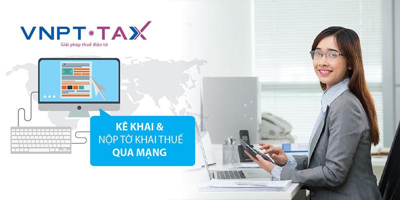dịch vụ kê khai thuế vnpt tax
