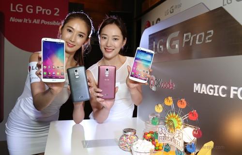 LG G Pro 2 phát hành tại châu Á, đầu tiên tại Việt Nam