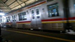 The Train Comes!