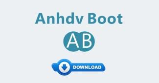 Chia sẻ bộ cài Anhdvboot Premium miễn phí