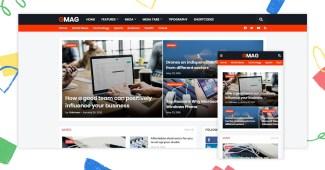 GMag Premium Blogger Template – GMag v1.8.0 Magazine Blogger Template