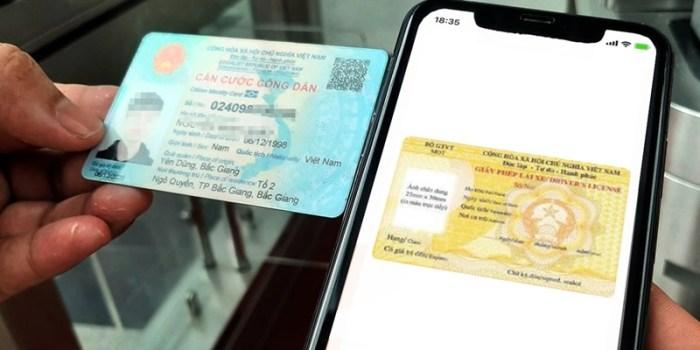 Cách tra cứu bằng lái xe trên thẻ Căn cước công dân