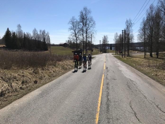 Väike maanteetreening Oslokandis