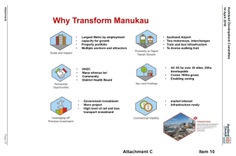 Why Transform Manukau