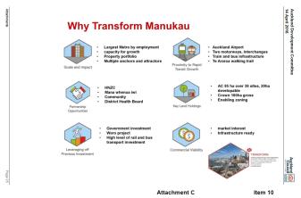 Why Transform Manukau
