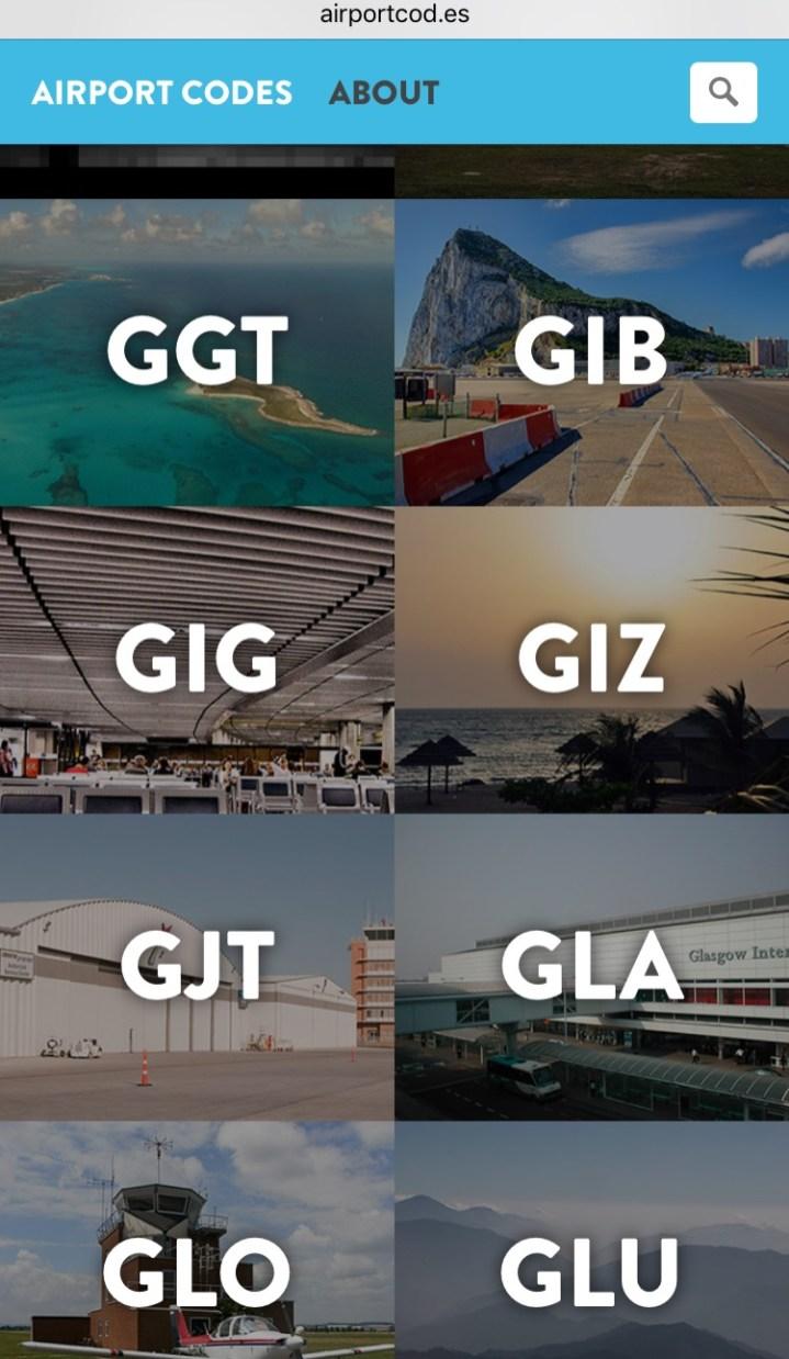 Airport Code 1