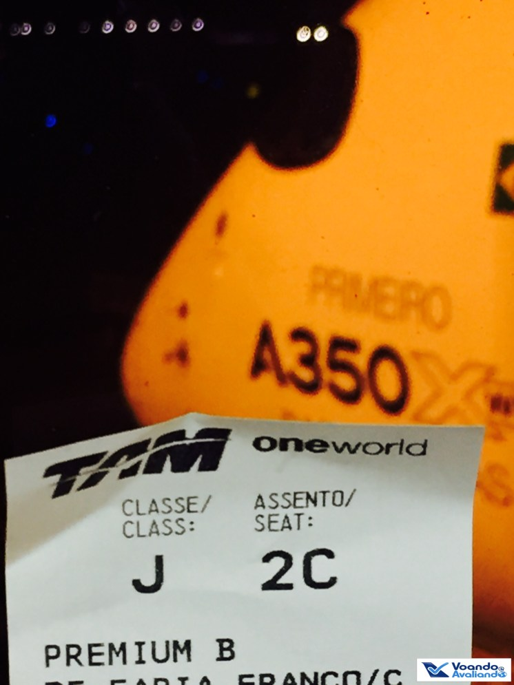 A350 - Bico - Boarding Pass