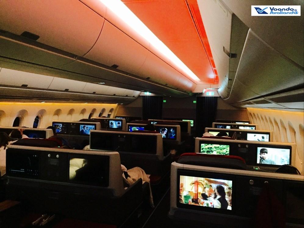 A350 - Cabine - Visão Lateral - Dia
