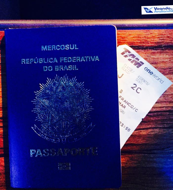 Passaporte - Boarding Pass